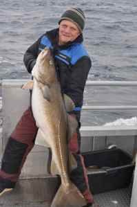 50lb Skrei caught off Lauklines