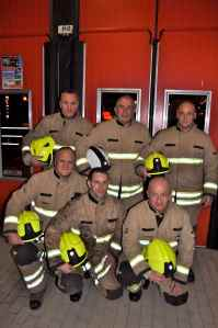 Blue Watch Roath Fire Station 2012