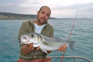GAETAN WITH A NICE MOROCCAN BASS
