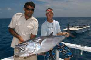 Big dogtooth tuna are on the cards off Sri Lanka