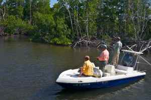 Bob Clements & Ray Jennings fishing with Capt Jim Wilcox