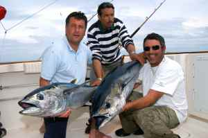 A brace of bluefin tuna