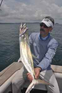 Doug Olander with Sierra Mackerel