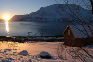 Arctic Norway during mid winter-beautiful!