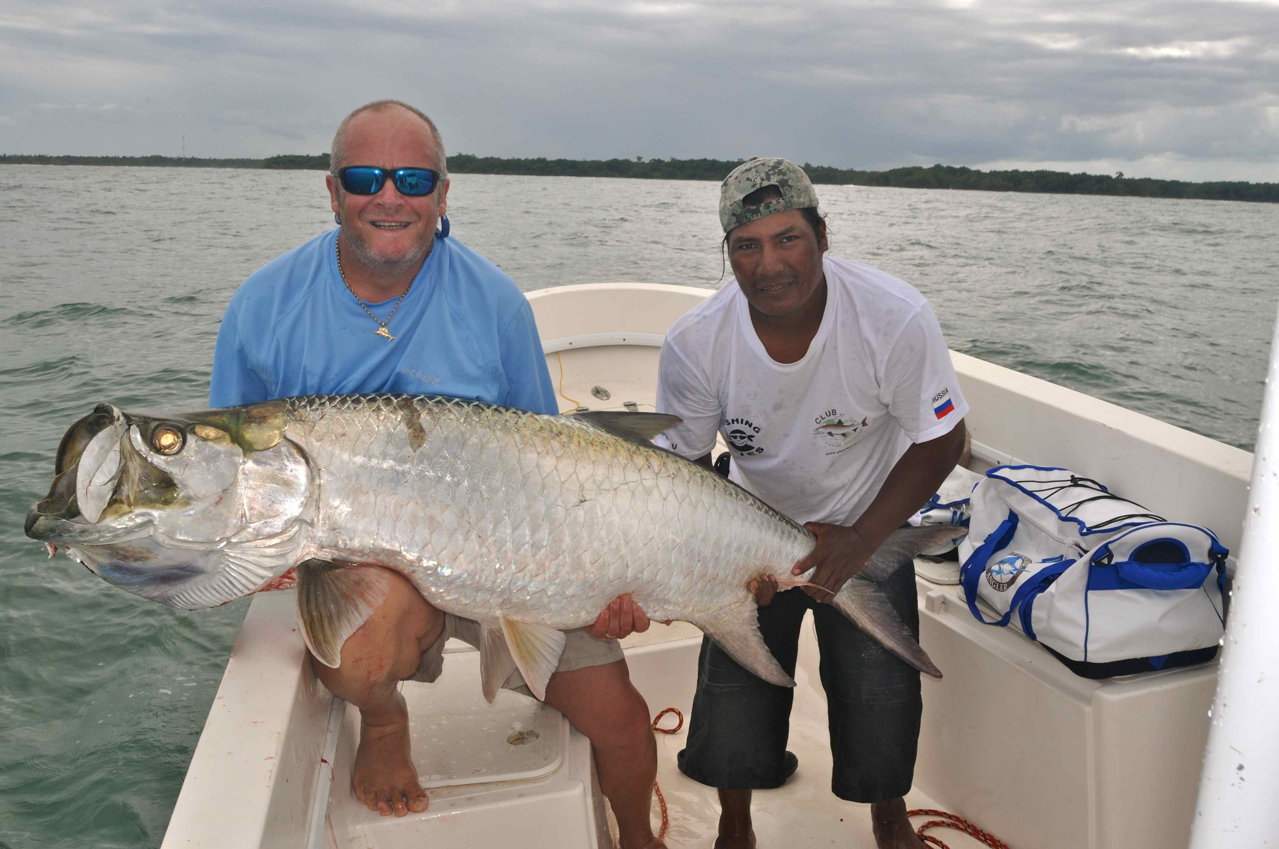 Nicaragua dave lewis worldwide fishing for Tarpon fish pictures