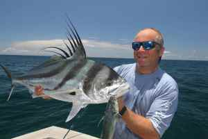 'Pez-Gallo' a gorgeous 20lb+ roosterfish caught in Panama