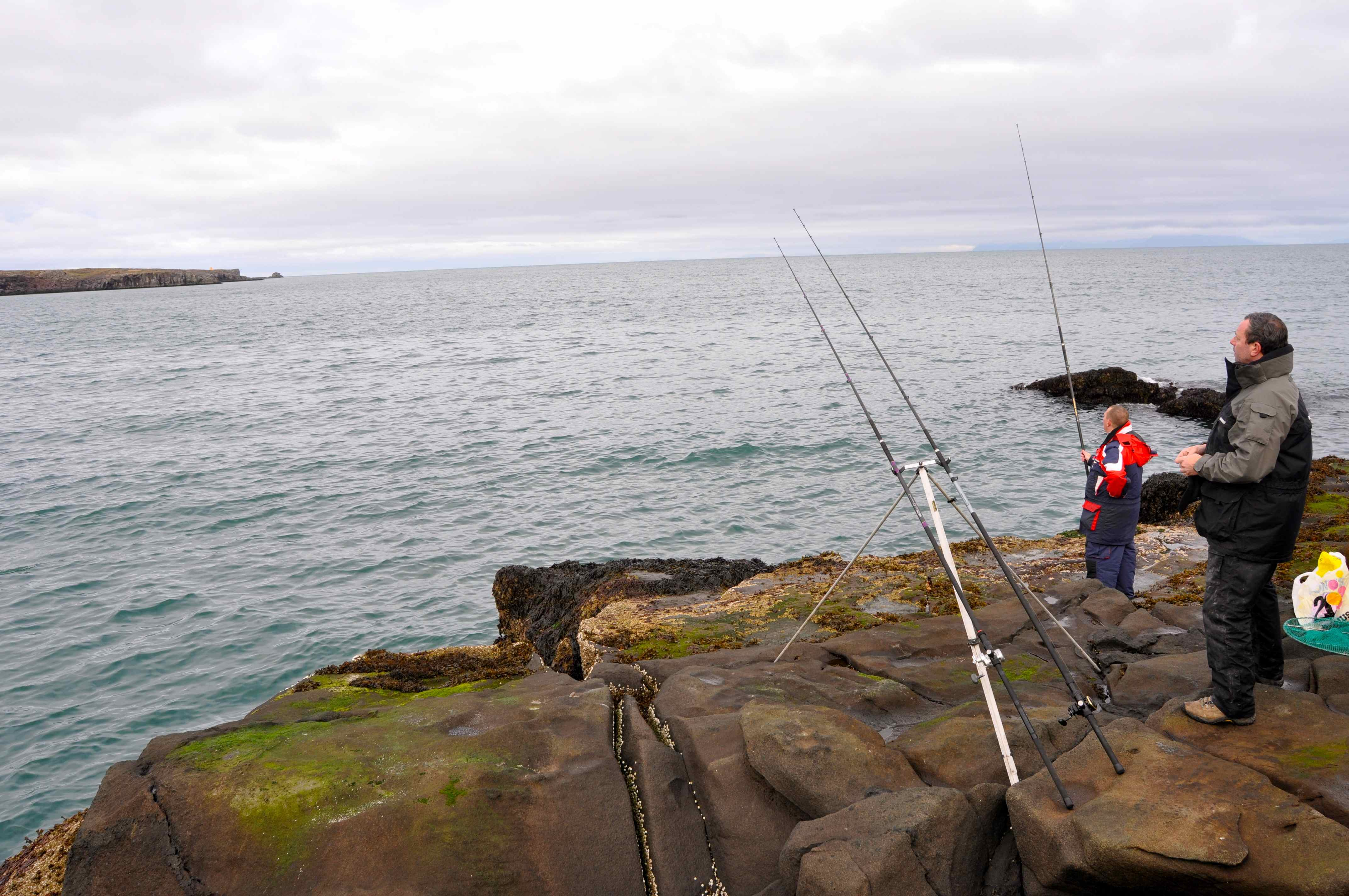 Iceland shore dave lewis worldwide fishing for Port a fishing