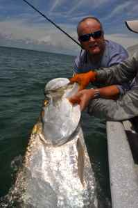 My biggest ever tarpon, estimated at 180lb