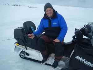 Me and my skidoo!