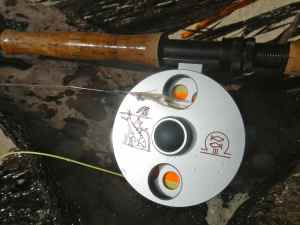 Tools of the trade, a favourite fly reel: Ari T Hart Mach III custom bonefish
