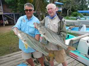 A fine pair, no I'm talking about the fish!