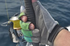 The new Buff heavy duty, SPF protecting, fishing gloves.