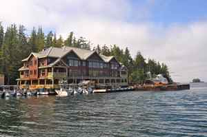 King Pacific Lodge; paradise afloat!