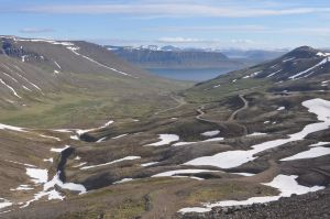 Beautiful Icelandic scenery on the drive to Talknafjordur.