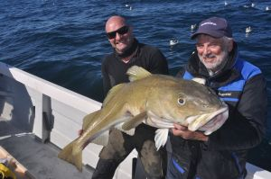 A 38lb plus cod for Terry Thomas.