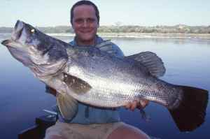 My first Nile Perch from the run below Murchison Falls